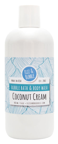 Coconut Cream Bubble Bath & Body Wash