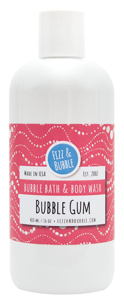 Bubble Gum Bubble Bath & Body Wash from Fizz & Bubble