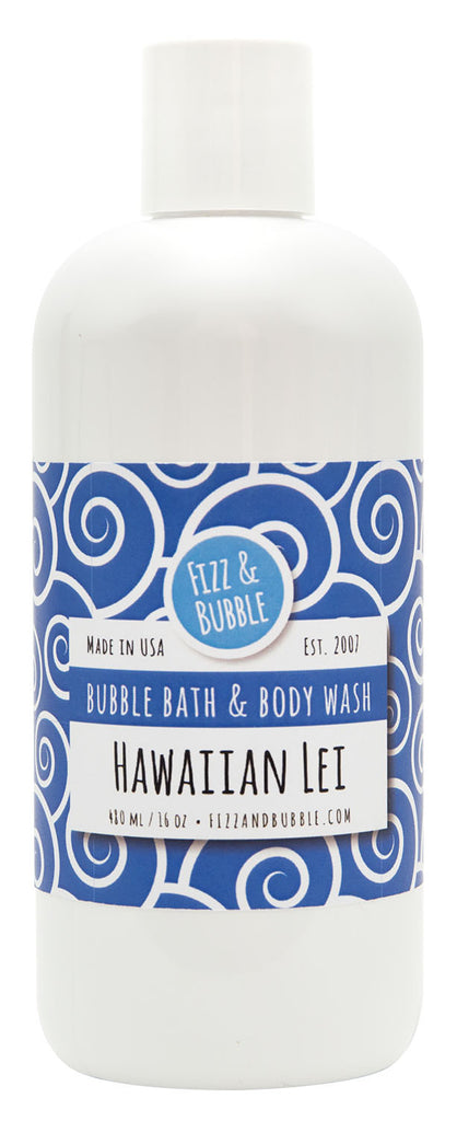 Hawaiian Lei Bubble Bath & Body Wash from Fizz & Bubble