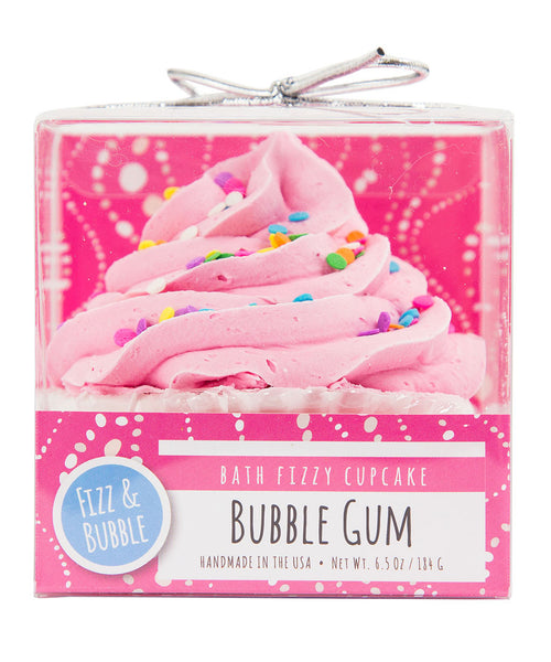 Bubble Gum Bath Fizzy Cupcake