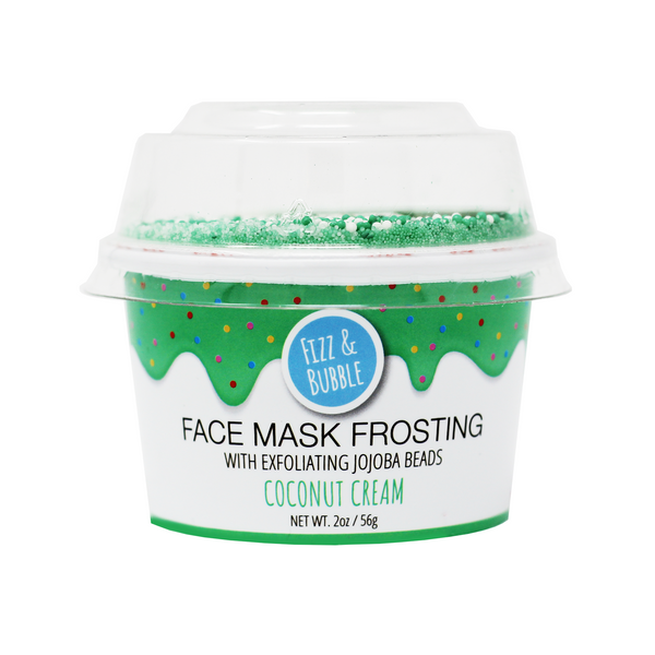 Coconut Cream Face Mask Frosting from Fizz & Bubble