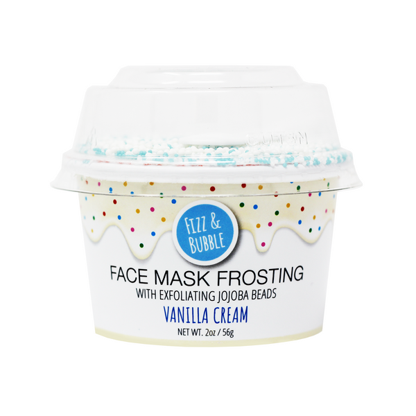 Vanilla Cream Face Mask Frosting from Fizz & Bubble