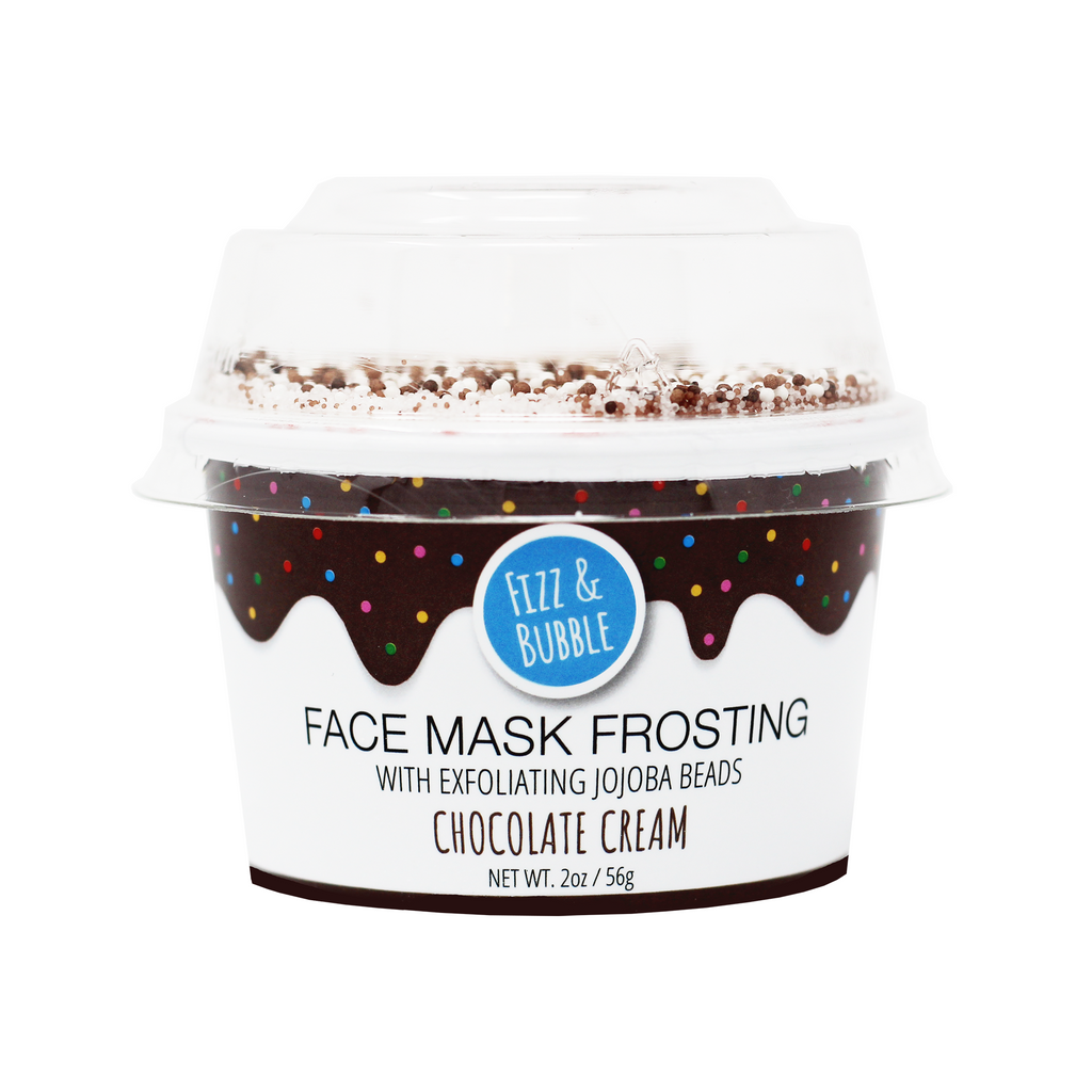 Chocolate Cream Face Mask Frosting from Fizz & Bubble