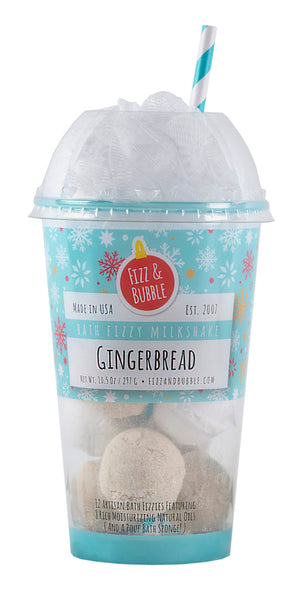 Gingerbread Bath Fizzy Milkshake