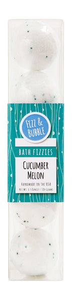 Cucumber Melon Mini Bath Fizzies from Fizz & Bubble
