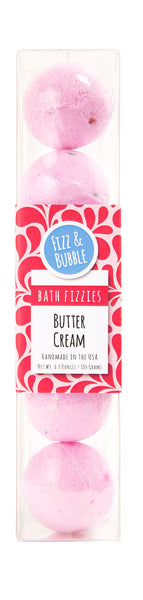 Buttercream Mini Bath Fizzies from Fizz & Bubble