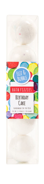 Birthday Cake Mini Bath Fizzies