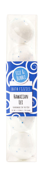 Hawaiian Lei Mini Bath Fizzies from Fizz & Bubble