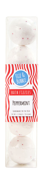 Peppermint Mini Bath Fizzies from Fizz & Bubble