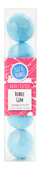 Bubble Gum Mini Bath Fizzies from Fizz & Bubble