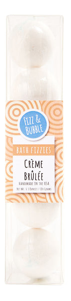 Crème Brûlée Mini Bath Fizzies from Fizz & Bubble