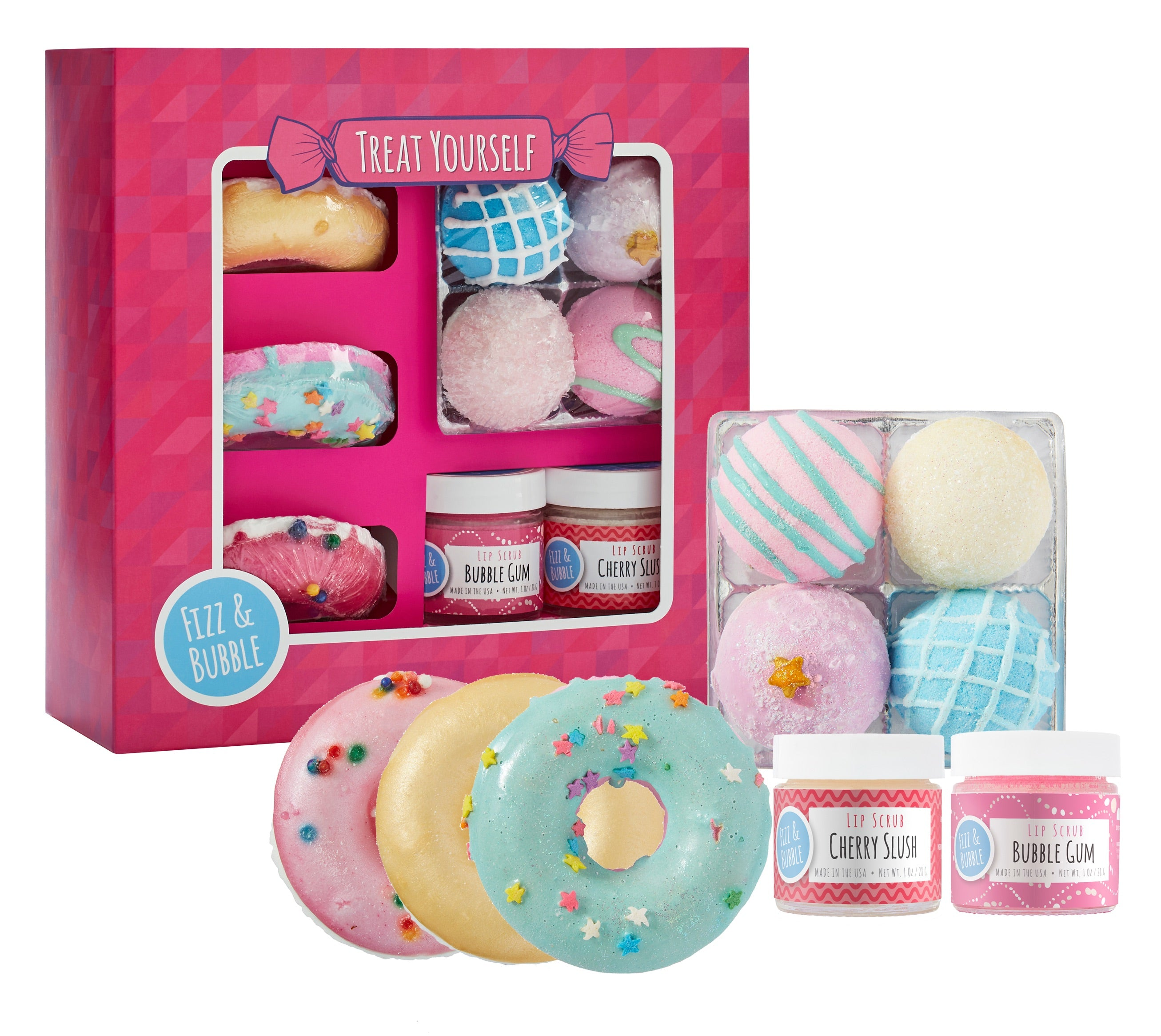 Treat yourself gift box fizz bubble treat yourself gift box solutioingenieria Image collections