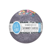 Shimmer Charcoal Bath Fizzy from Fizz & Bubble