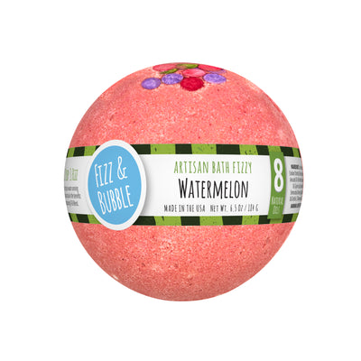 Watermelon Bath Fizzy from Fizz & Bubble