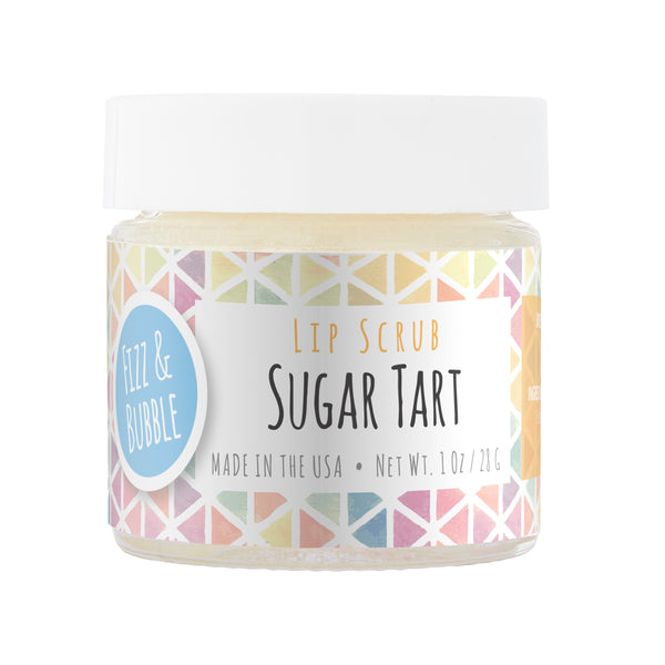 Sugar Tart Lip Scrub from Fizz & Bubble