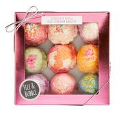 Assorted Bath Truffle Ice Cream Melts from Fizz & Bubble