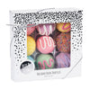 Silver Snow Holiday Bath Fizzy Truffles