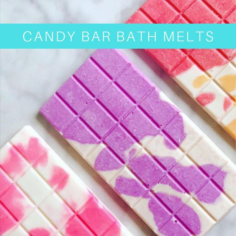 Candy Bar Bath Melts