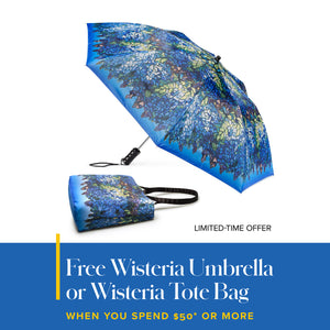 Free Wisteria Tote Bag with $50 Purchase