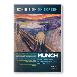 Munch Exhibition on Screen DVD