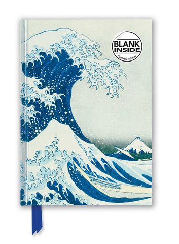 "Hokusai's ""Great Wave Off Kanagawa"" Foil Sketch Book"