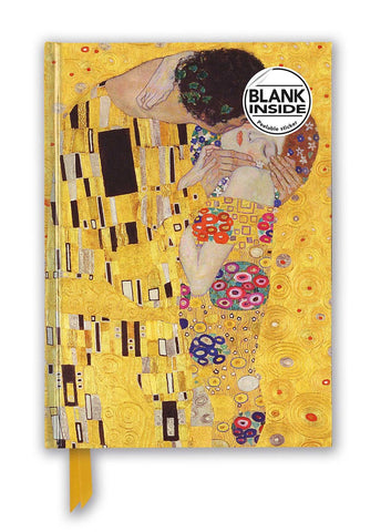 "Gustav Klimt's ""The Kiss"" Foil Sketch Book"