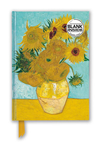 "Vincent van Gogh's ""Sunflowers"" Foil Sketch Book"