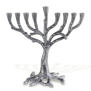 Rustic Tree Menorah