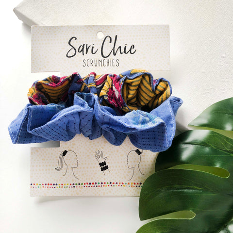 Sari Chic Scrunchies (Set of 2)