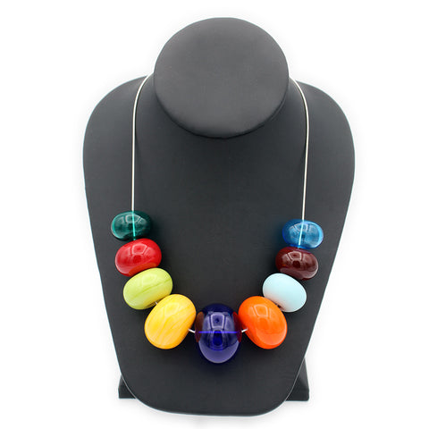 Colorful Bubble Necklace