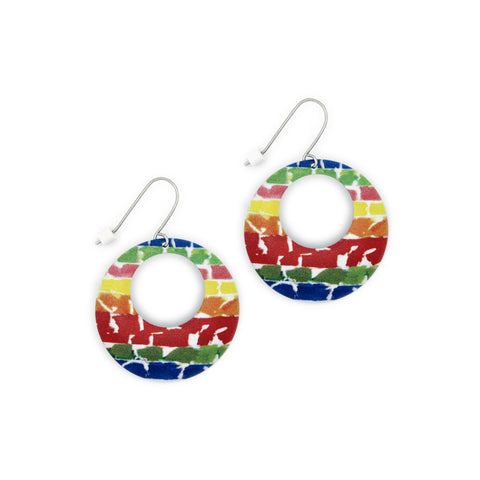 Color Field Earrings