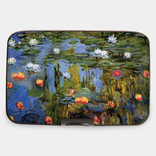 "Armored Wallet: Monet's ""Water Lilies"""