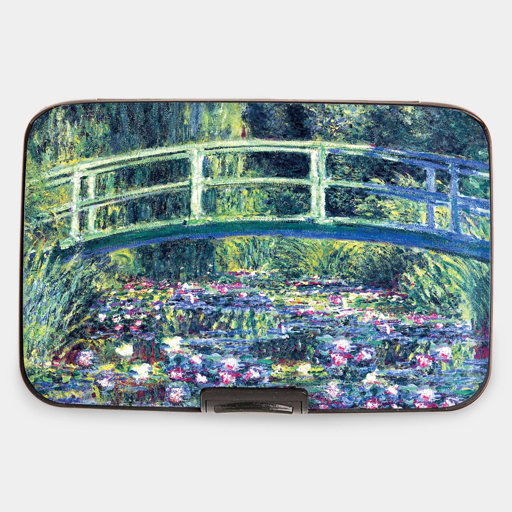"Armored Wallet: Monet's ""Water Lilies and Japanese Bridge"""