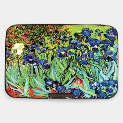 "Armored Wallet: van Gogh's ""Irises"""