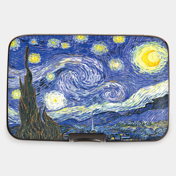 "Armored Wallet: van Gogh's ""Starry Night"""