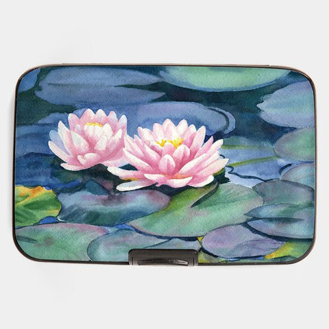 Armored Wallet: Water Lily