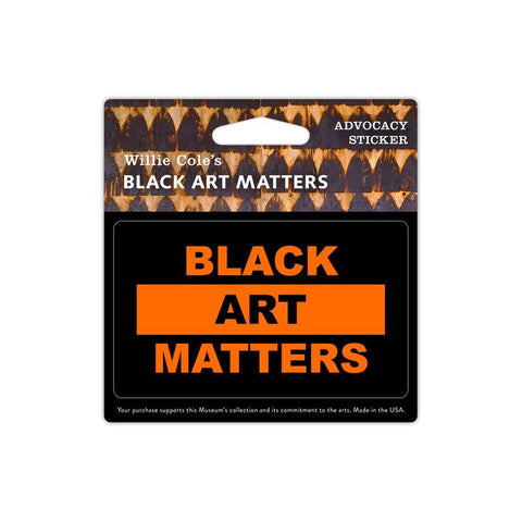 Black Art Matters Vinyl Sticker