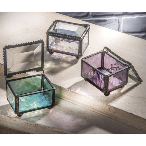 Stained Glass Jewelry Boxes