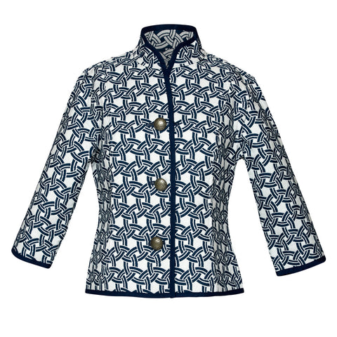 Bracelet Sleeve Reversible Jacket, Nautical