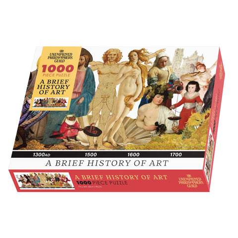 A Brief History of Art Jigsaw Puzzle