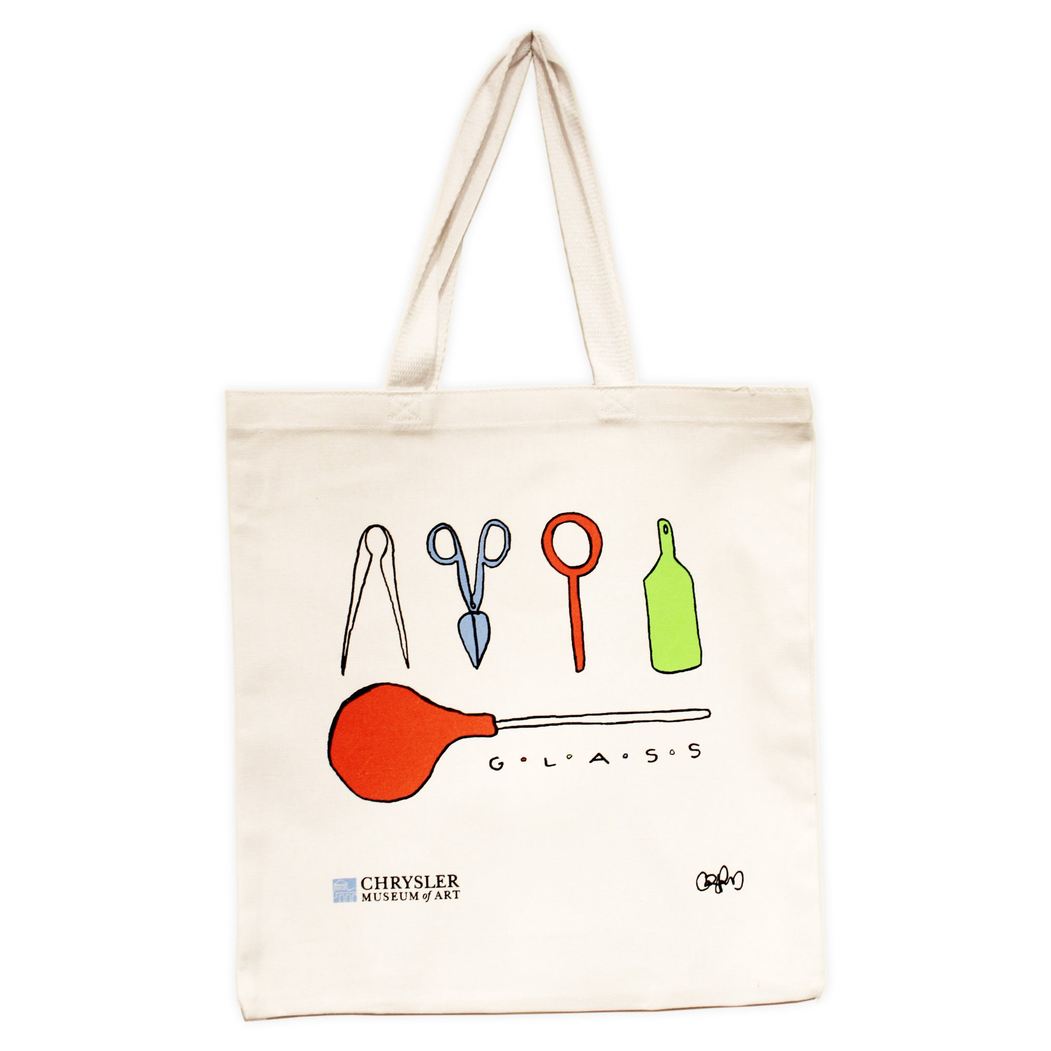 Glass Tools Canvas Tote Bag