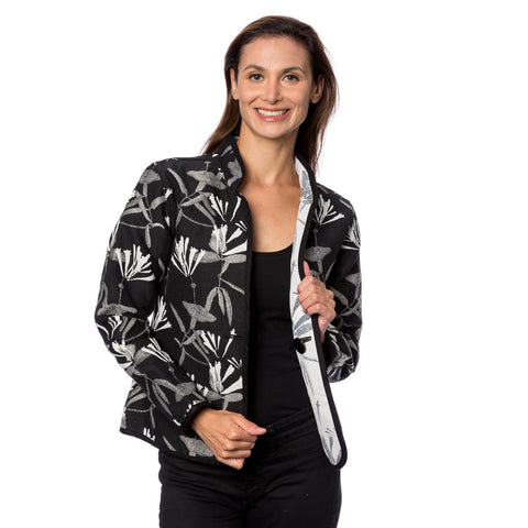 Classic Reversible Jacket, Honeysuckle