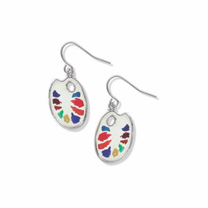 Watercolor Palette Earrings