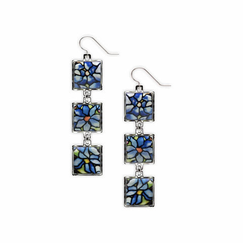 Tiffany Clematis Dangle Earrings