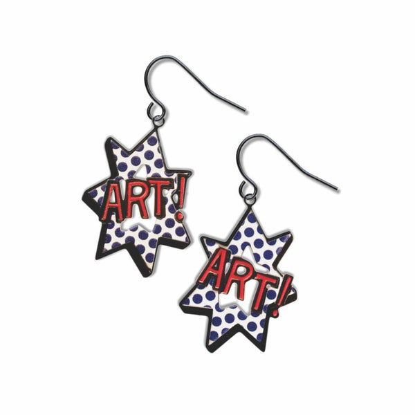 Pop Art Earrings