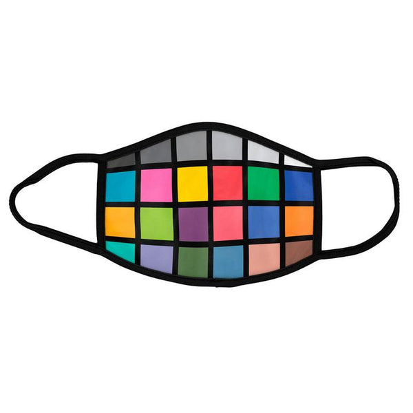 Color Grid Face Mask
