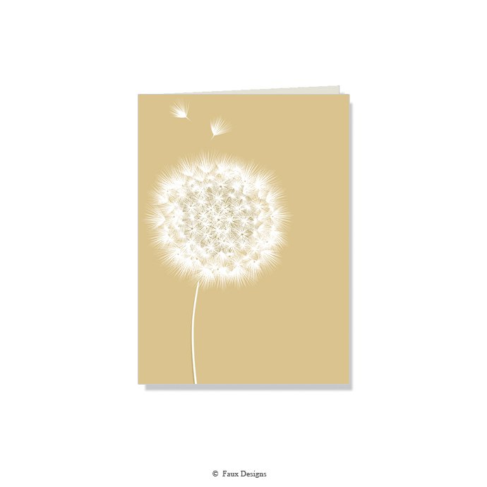 Folded Notes: Dandelion