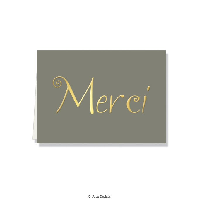 Folded Notes: Merci
