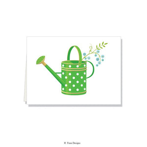 Folded Notes: Watering Can