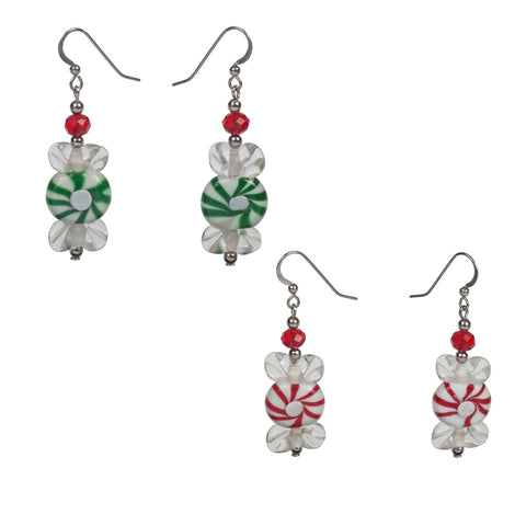 Glass Candy Earrings